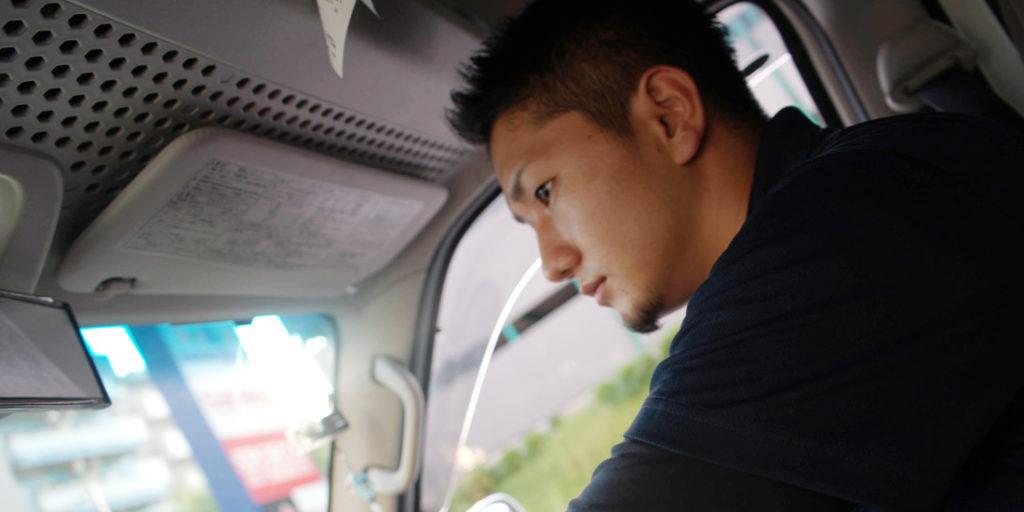 JMB宅配ドライバーの宮川さん